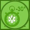 Шоковая заморозка грибов при температуре – 50 градусов Цельсия